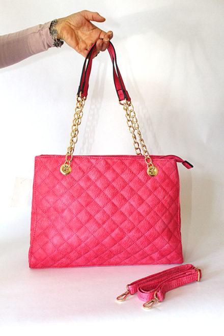 Женска розева ташна - Бутик Црвенкапа ! Најдобри ! Најевтини !