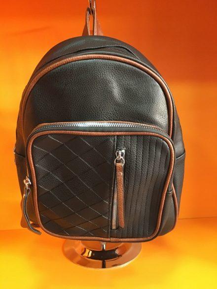 Црн Ранец Модел 326 - Бутик Црвенкапа ! Најдобри ! Најквалитетни !